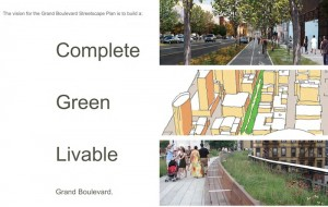 Grand Boulevard Streetscape Plan 1