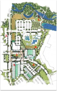Clive Town Center Plan 1