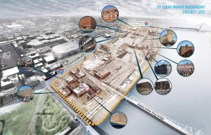North Riverfront Redevelopment and Open Space Plan 1