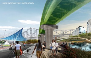 North Riverfront Redevelopment and Open Space Plan 2