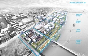 North Riverfront Redevelopment and Open Space Plan 3